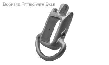BOOMEND FITTING WITH BALE