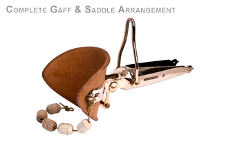COMPLETE GAFF & SADDLE ARRANGEMENT