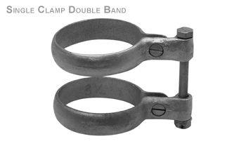 Single Clamp Double Band