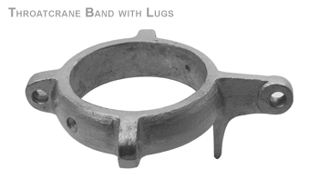 THROATCRANE BAND WITH LUGS